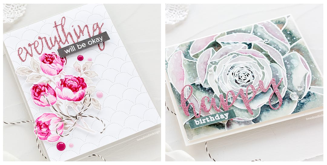 A look at the new March Altenew Stamp & Die release with a video creating a multi layered rose handmade card by Debby Hughes. Find out more https://limedoodledesign.com/2018/03/video-altenew-march-stamp-die-release-blog-hop-giveaway/