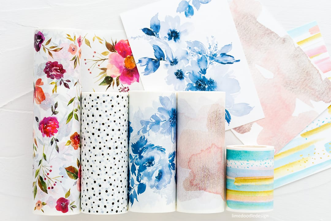 New Altenew Washi Tape. Find out more here: https://limedoodledesign.com/2018/03/video-altenew-march-2018-release-blog-hop-giveaway/