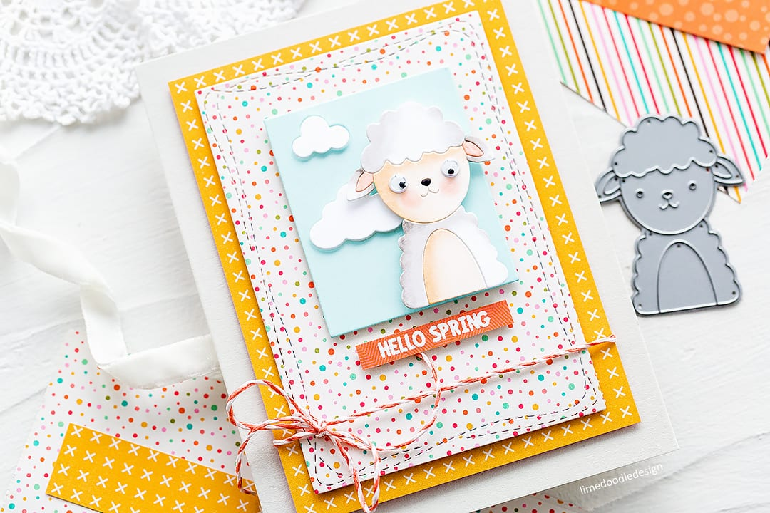 Cute birthday and spring handmade cards by Debby Hughes using the Picture Book die series from Simon Says Stamp. Find out more here: https://limedoodledesign.com/2018/03/more-picture-book-fun-simon-says-stamp-new-release/
