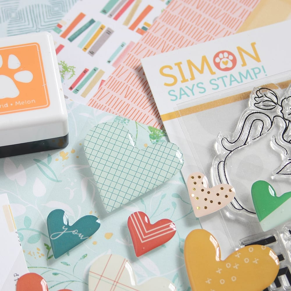 Simon Says Stamp May Card Kit. Find out more here https://limedoodledesign.com/2018/04/simon-says-stamp-may-2018-card-kit/