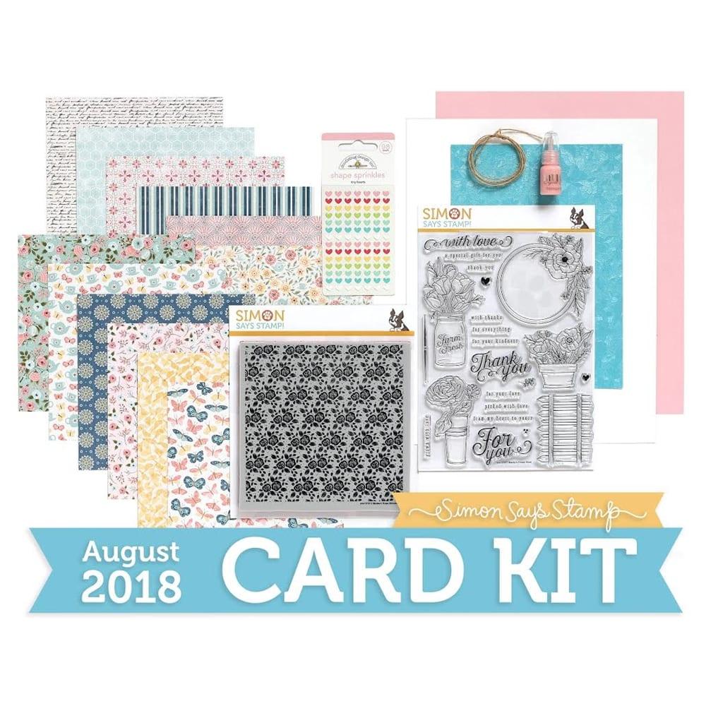 Simon Says Stamp August Card Kit