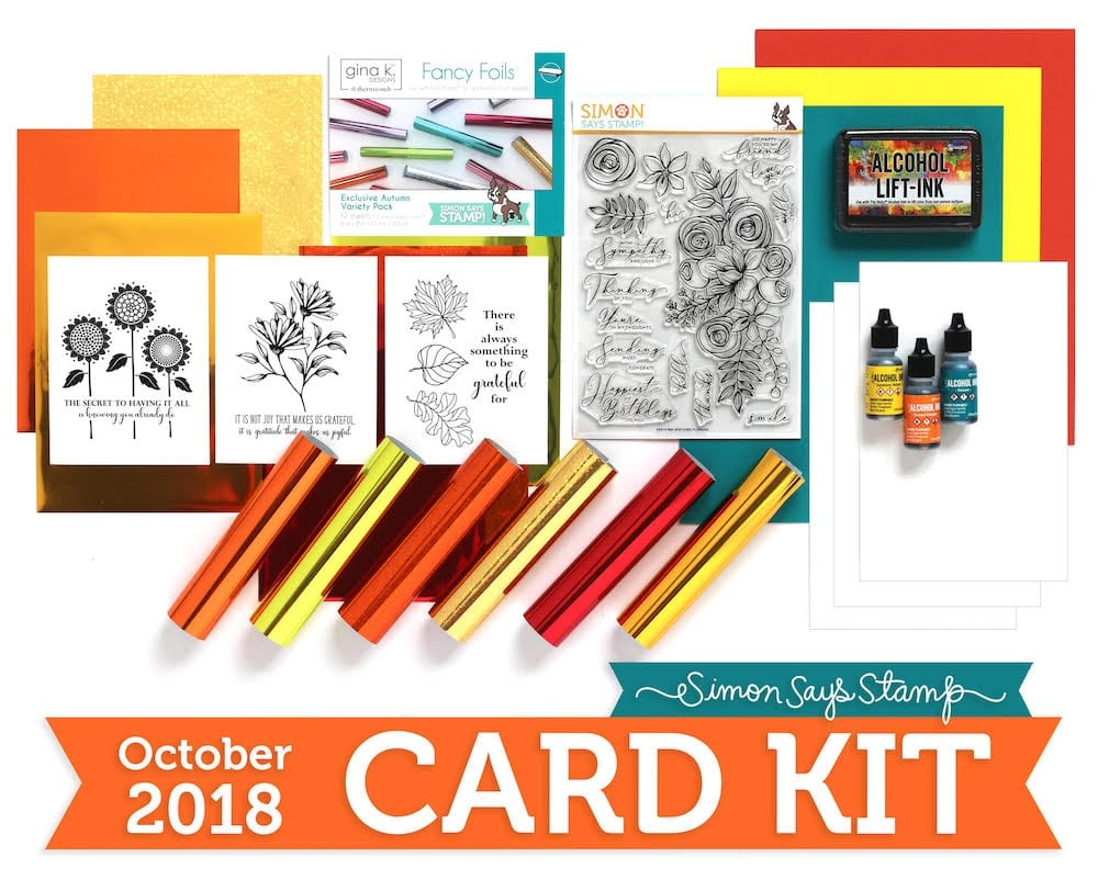 Simon Says Stamp October Card Kit