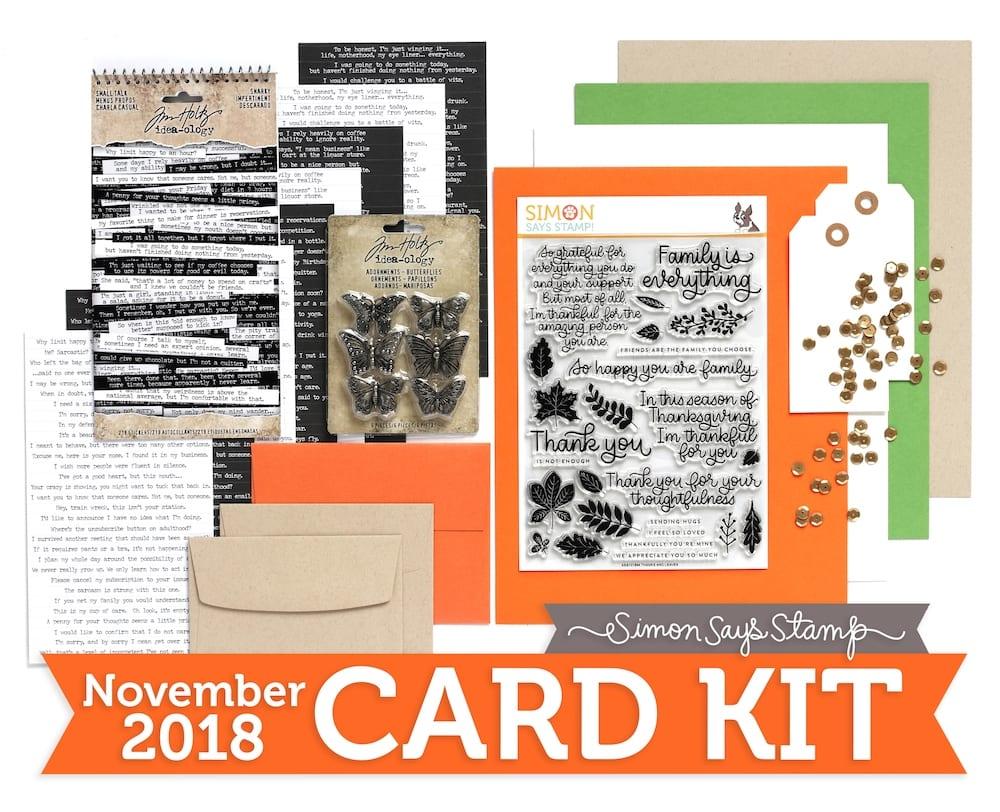 Simon Says Stamp November Card Kit