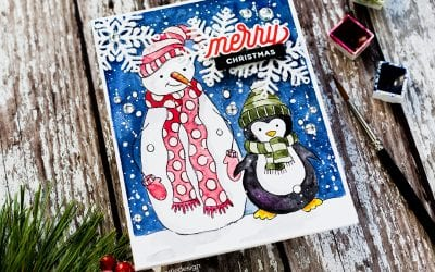 Paintable Prints – Perfect For Quick Holiday Cards