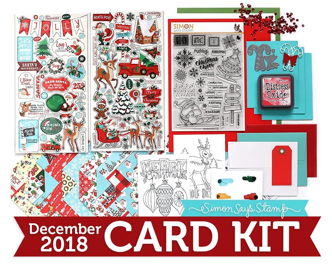 Simon Says Stamp December Card Kit