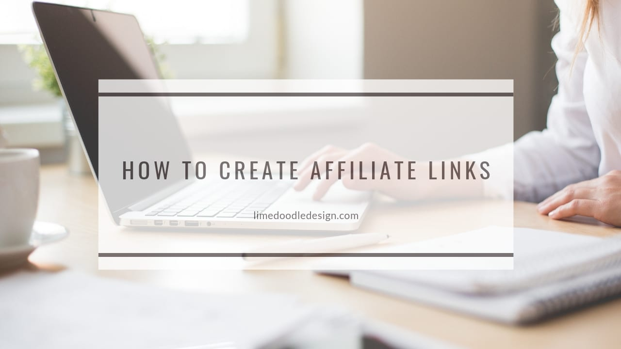 Video tutorial on how to create text and thumbnail affiliate links by Debby Hughes. Find out more here: https://limedoodledesign.com/2018/11/supporting-others-how-to-create-affiliate-links/