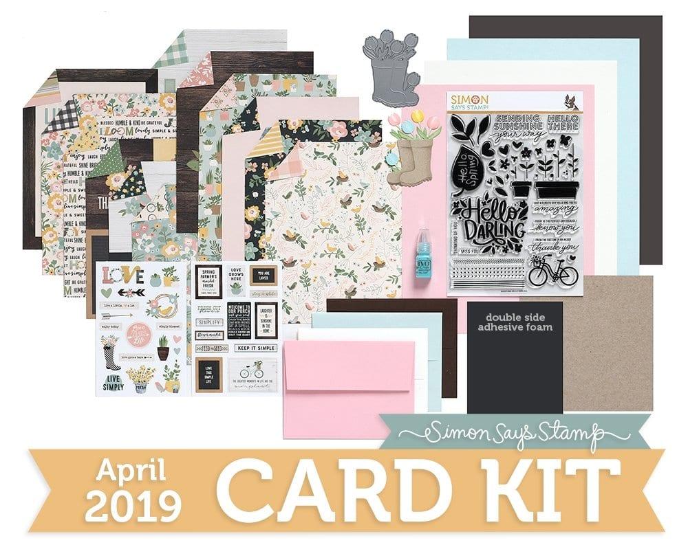 Simon Says Stamp April Card Kit
