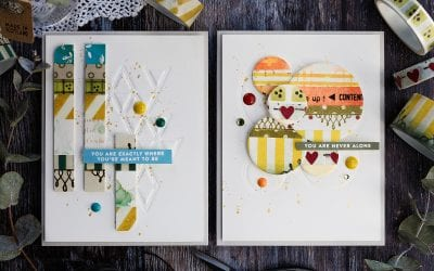 Simple Washi Tape Cards