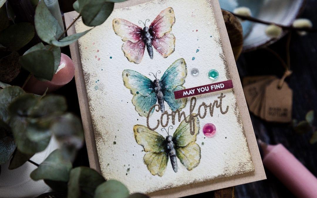 Watercoloured Butterflies + SSS New Release