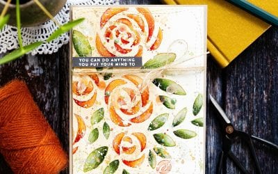 Video – Using Watercolour With A Stencil