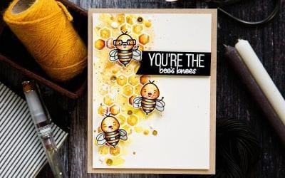 Watercoloured Bee