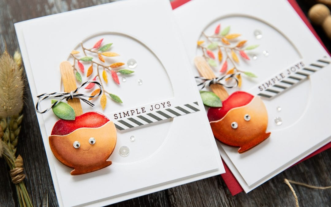Colouring Die Cuts With Markers