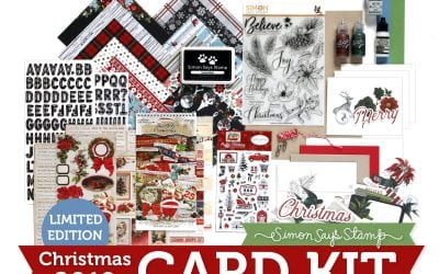 Simon Says Stamp Limited Edition Holiday Card Kit