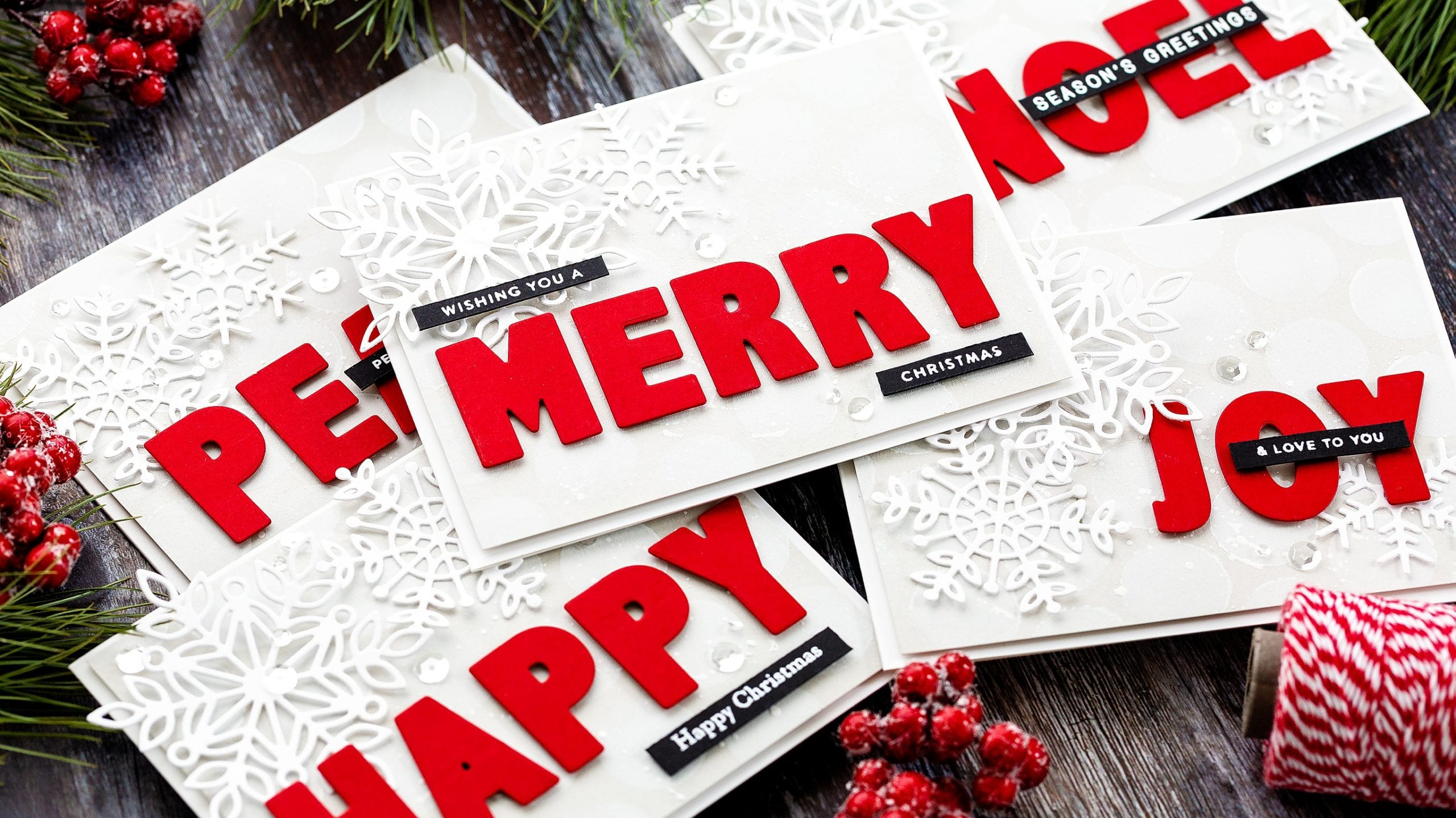Video – Batching Last Minute Christmas Cards