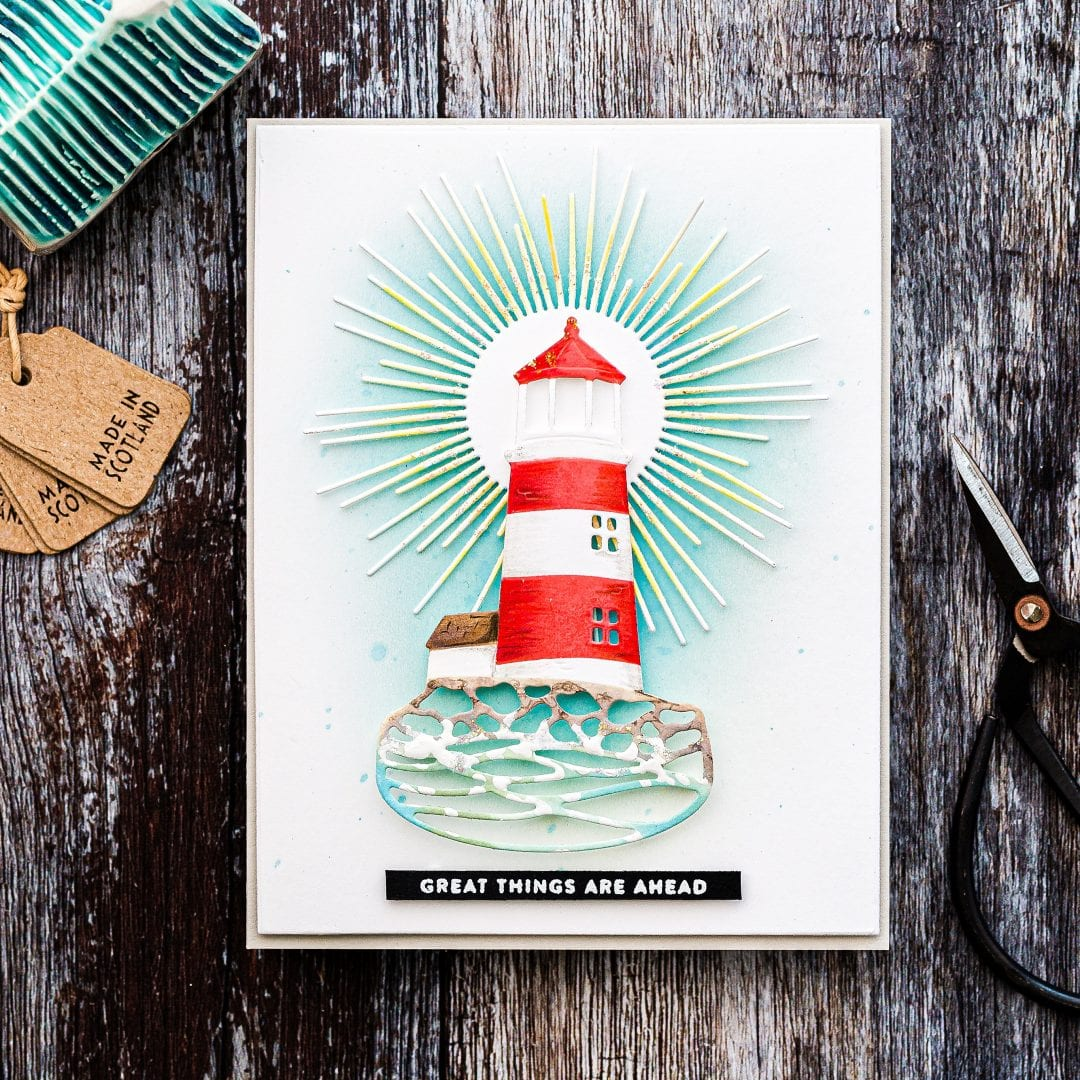 Ink Blending Over Die Cuts + Simon Says Stamp January Card Kit