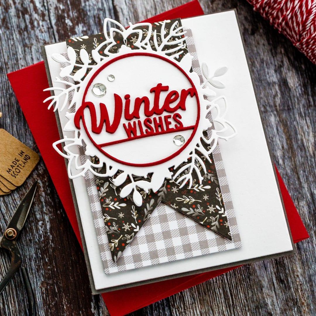 Die Cut Winter Wishes