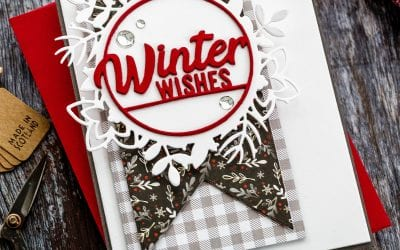 Die Cut Winter Wishes
