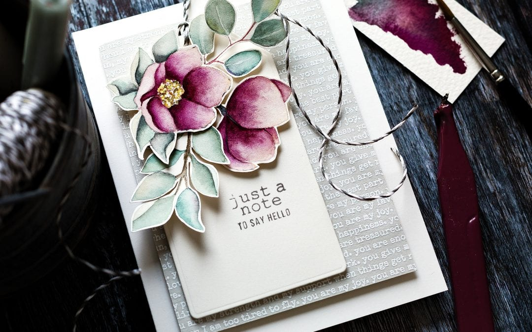 Is It Time For Spring Flowers Yet?! + March Card Kit
