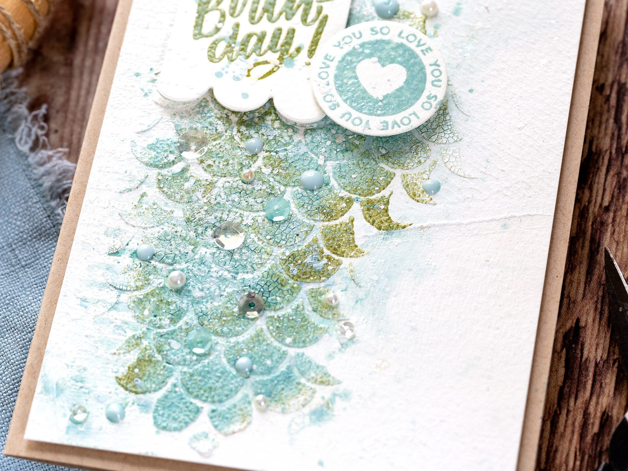 Tutorial experimenting with Distress Embossing Glaze + Texture. Handmade card by Debby Hughes using supplies from Simon Says Stamp, CZ Design and Tim Holtz