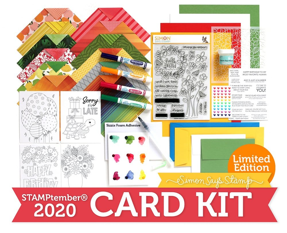 Limited Edition STAMPtember Card Kit