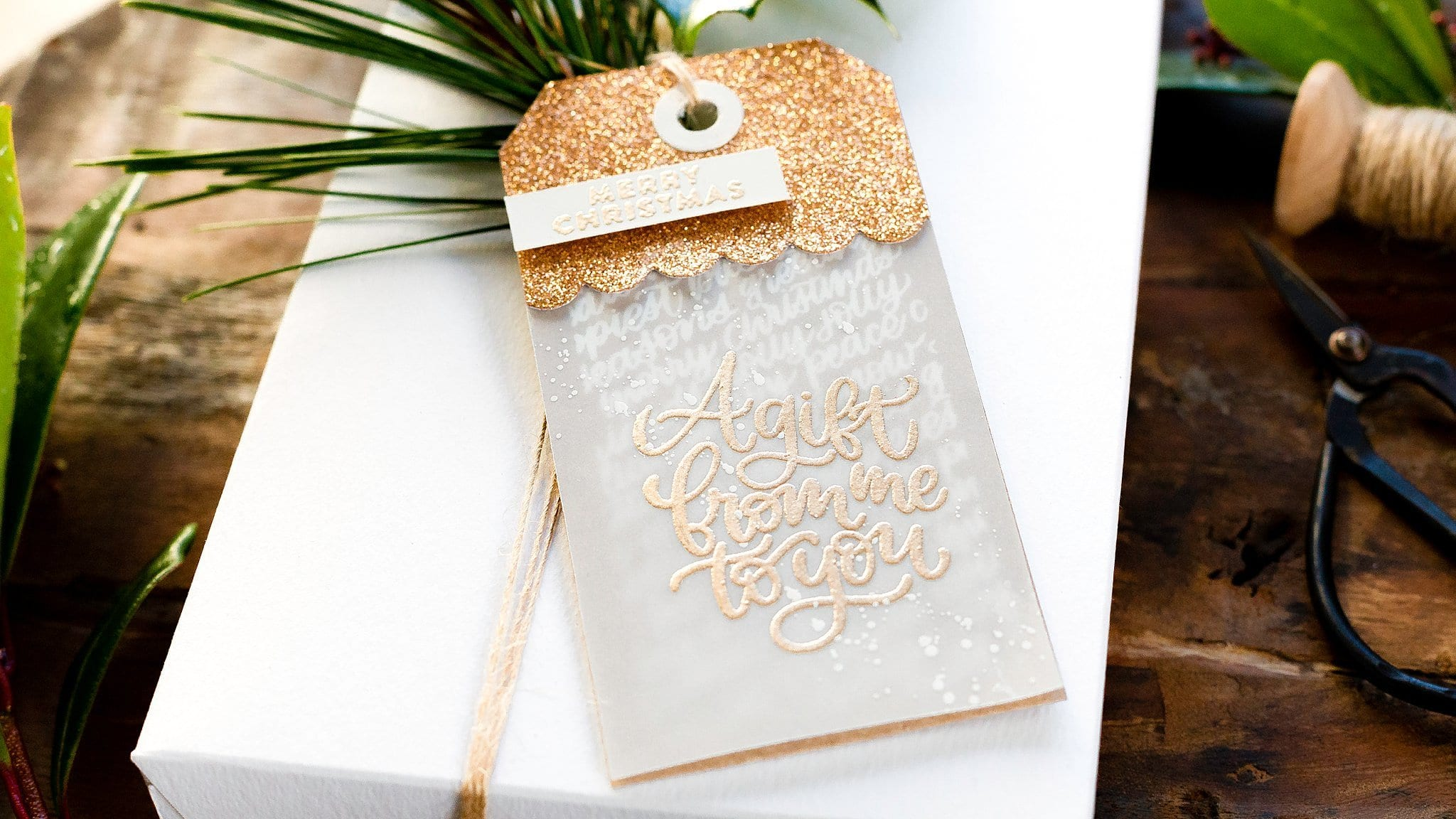 Video – Classic Christmas Gift Tags + Limited Edition Holiday Tag Kit