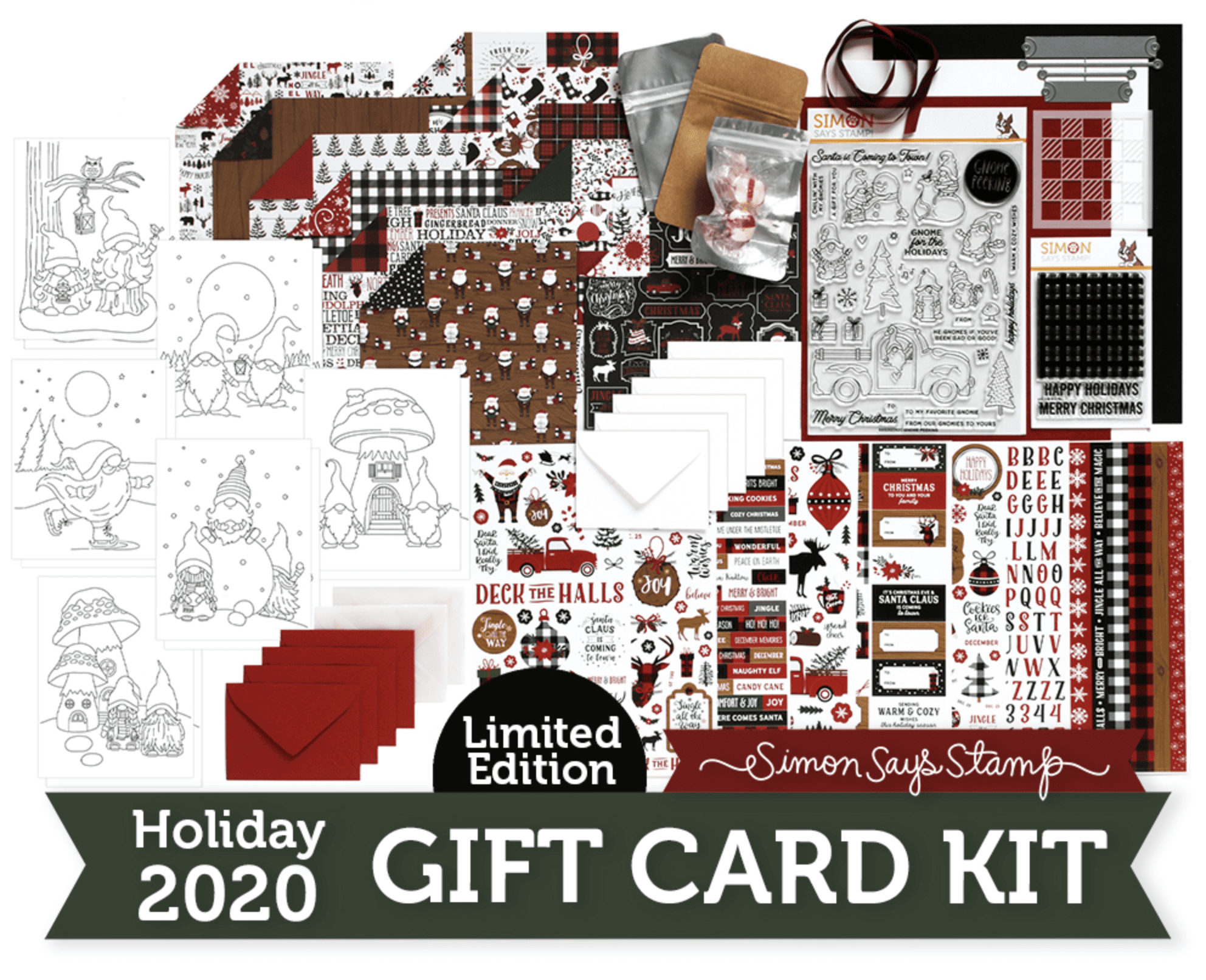 Limited Edition Gift Card Kit