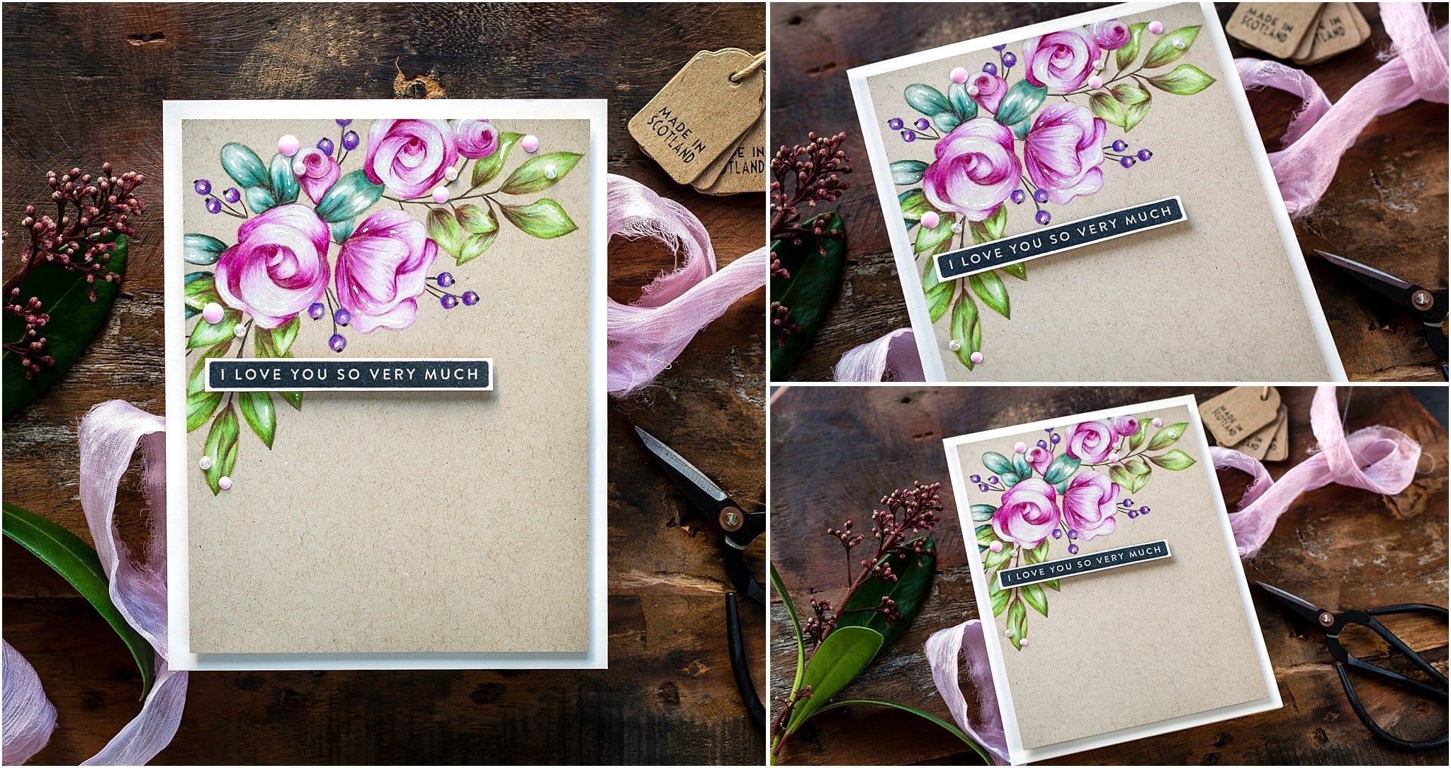 Video tutorial pencil colouring flowers on kraft card #handmadecards #debbyhughes #cardmaking #cardmakingideas #cardmakingtechniques  #cardmakingtutorials #handmadecardideas #handmadechristmas #simonsaysstamp