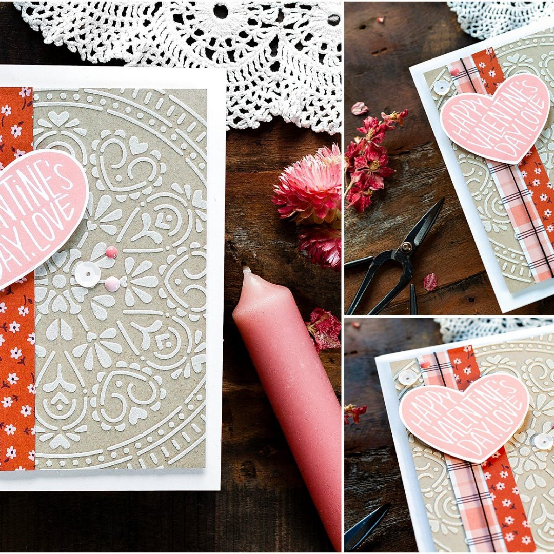 Quick & Easy Valentine's Card + New Release