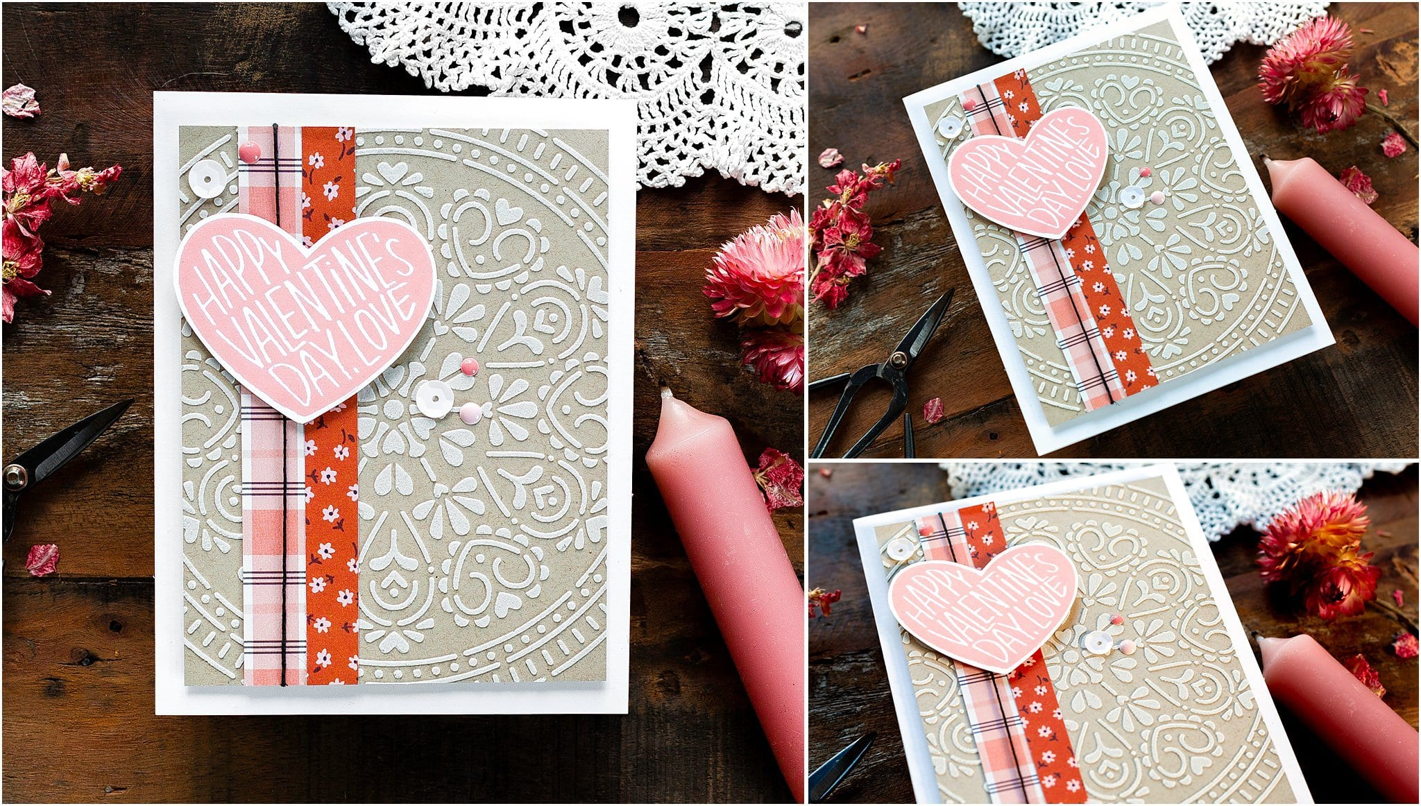 Video tutorial - quick and easy handmade Valentine's card! Design by Debby Hughes using supplies from Simon Says Stamp #handmadecards #cardmaking #cardmakingideas #cardmakingtechniques  #cardmakingtutorials #handmadecardideas #simonsaysstamp