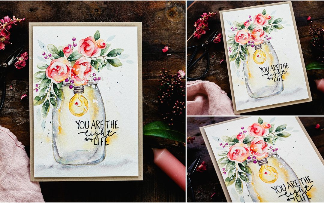 Video – How To Watercolour Glass