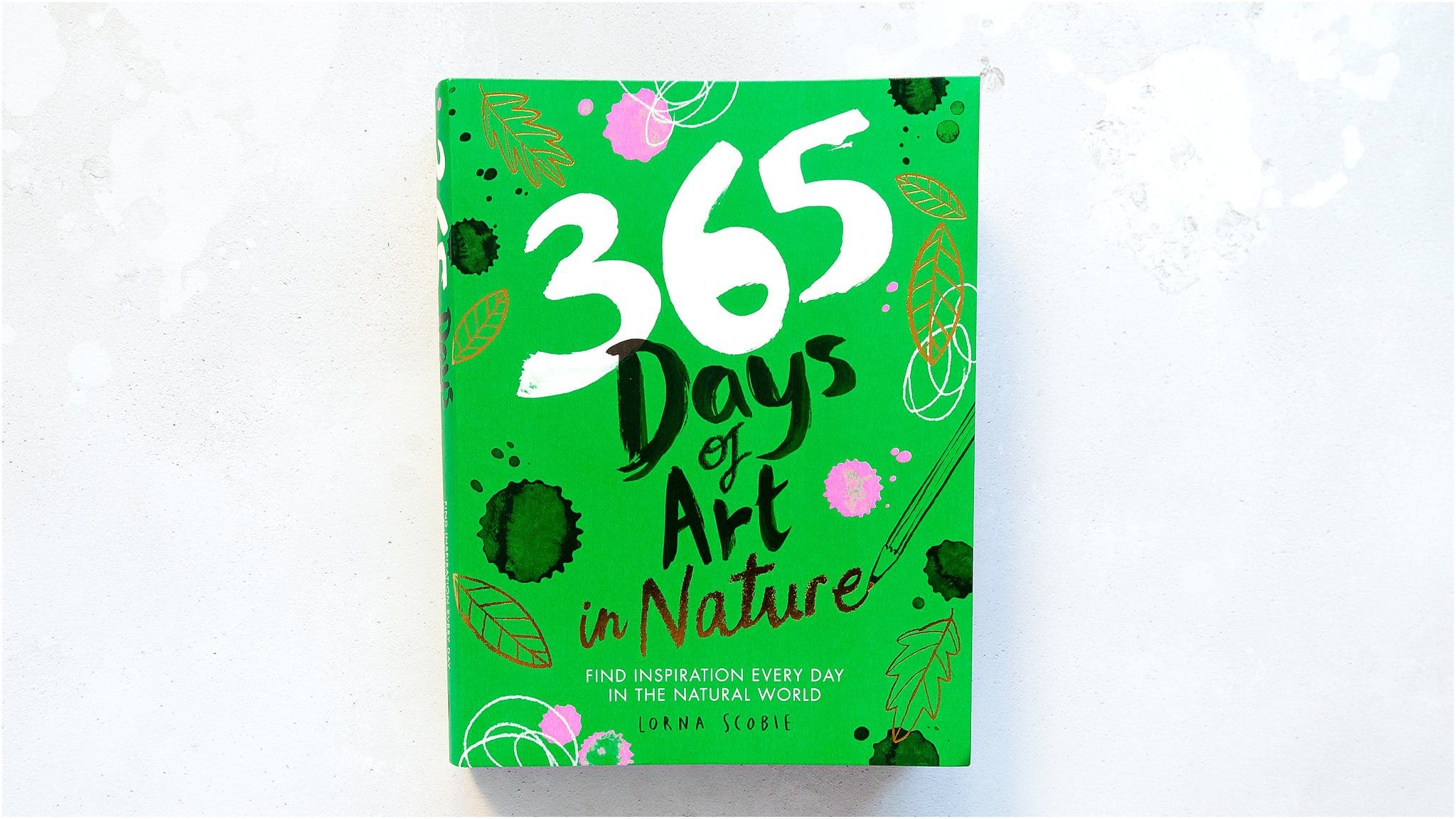 365 Days Of Art In Nature video book review by Debby Hughes #bookreview #365daysofart