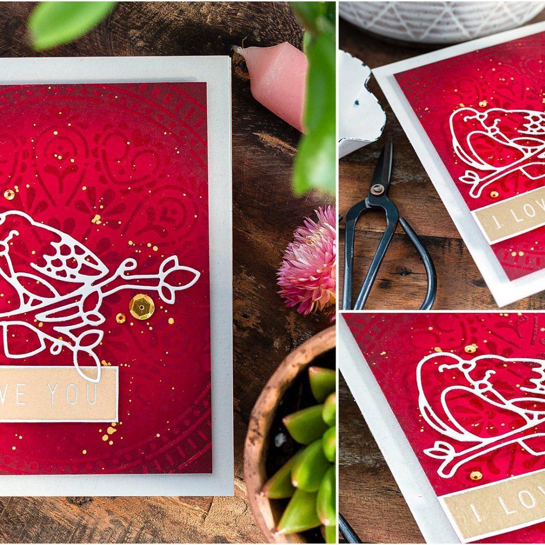 Video – Simple Handmade Valentine's Card