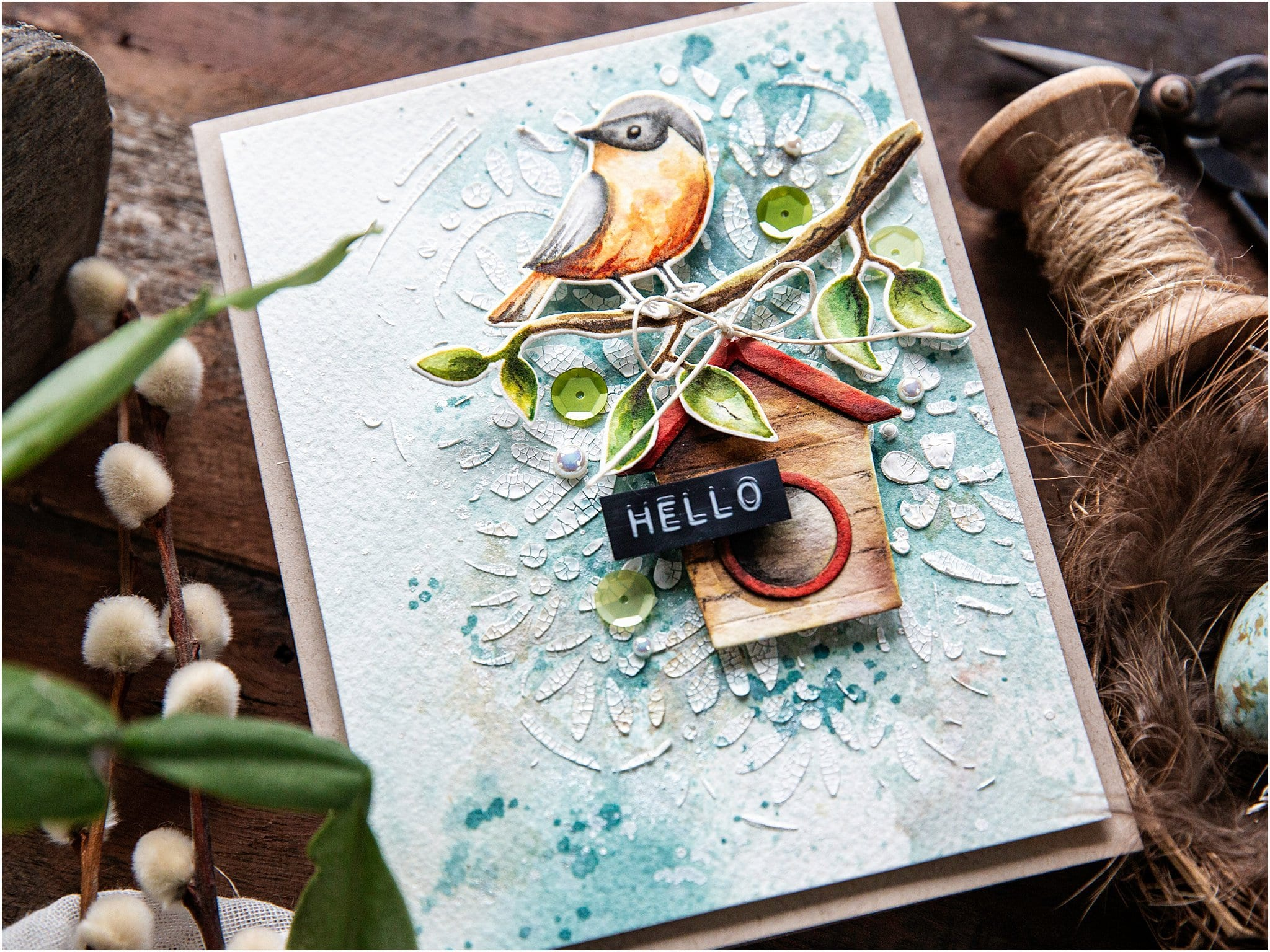 Watercolouring With Distress Inks + New Release
