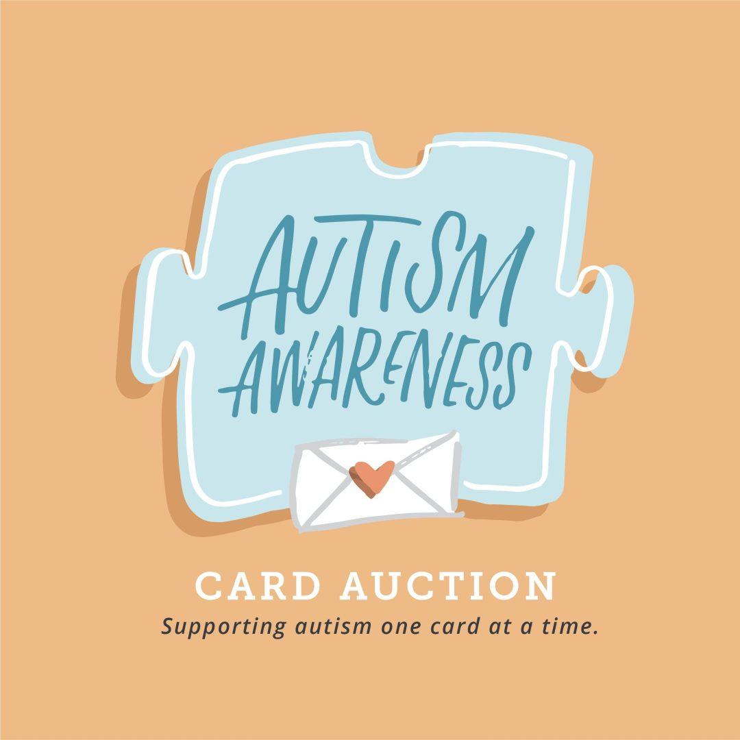 Autism Awareness Card Auction