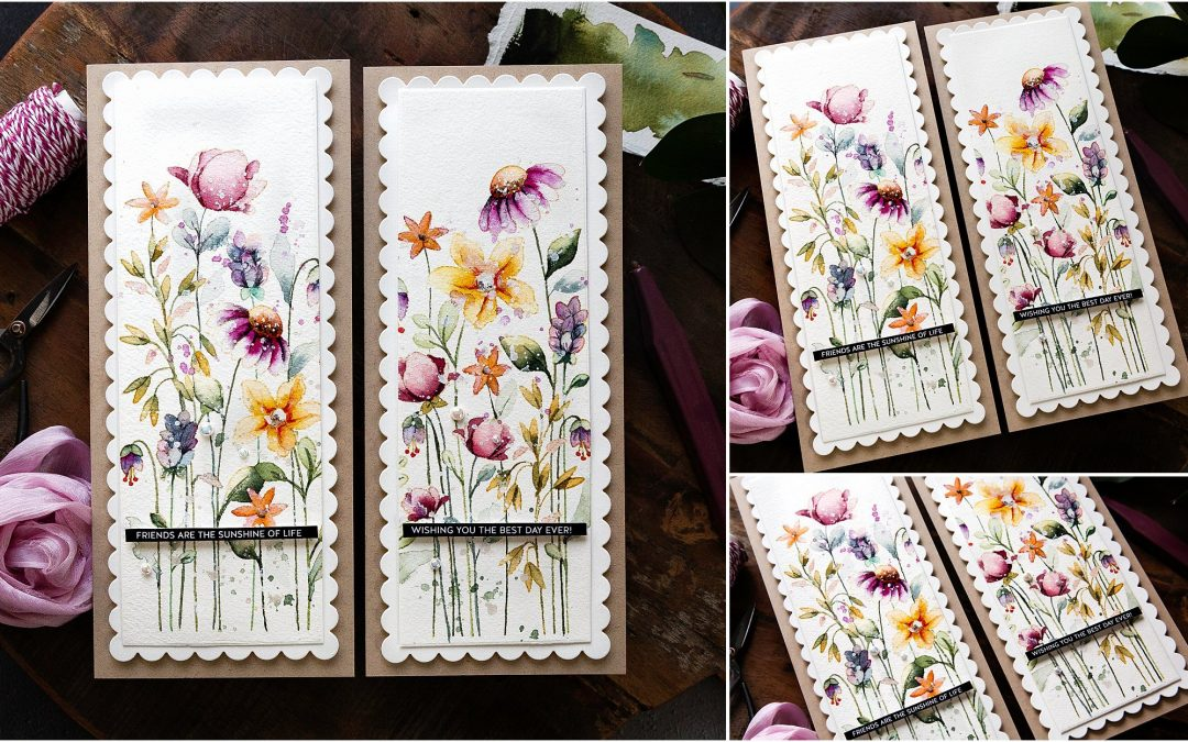 Watercoloured Wildflowers Two-For-One + New Release