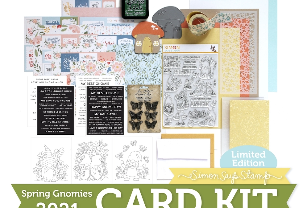 Limited Edition Gnome Card Kit