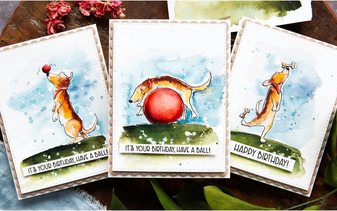 Cute Card Set Trio + Blog Hop + Giveaway