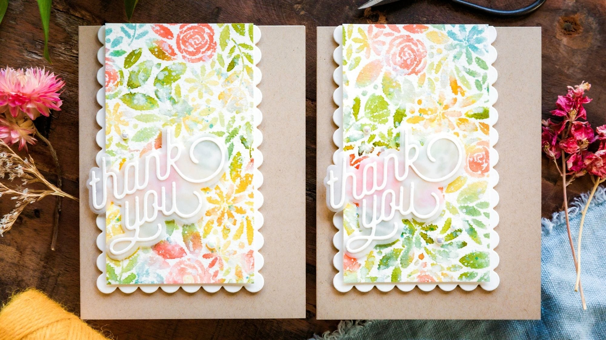 Watercolour Backgrounds For The Faint-Hearted!