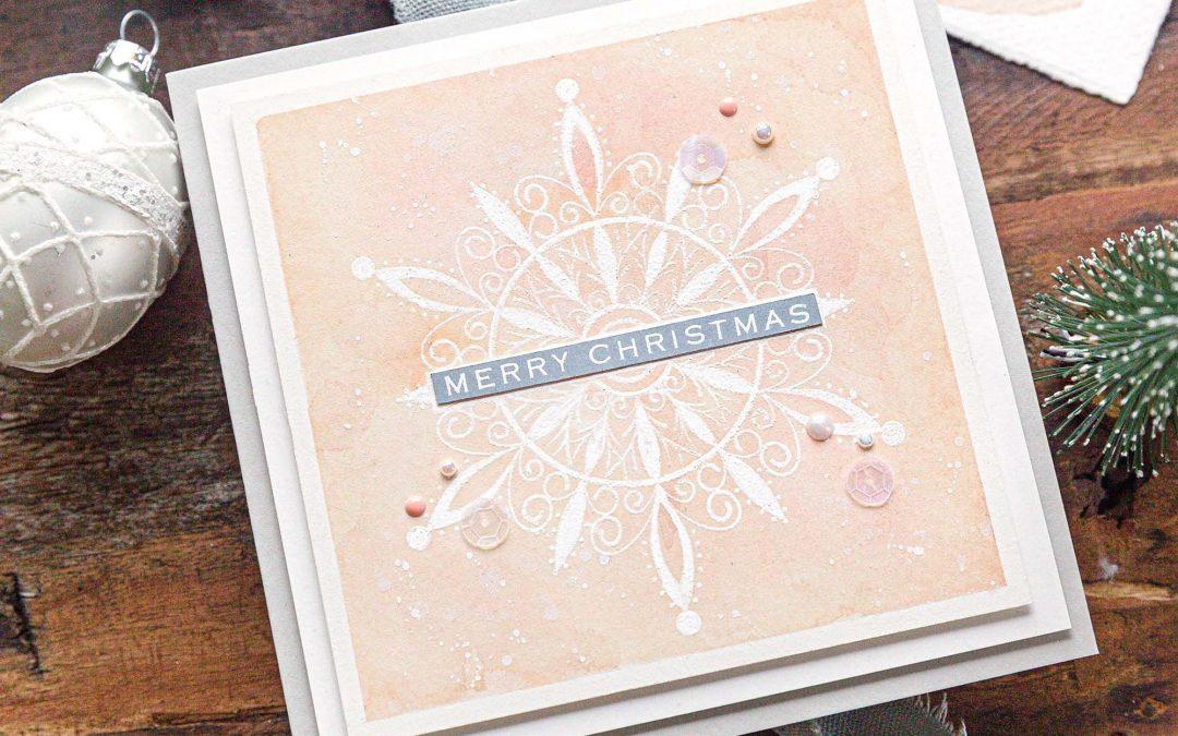 Soft, Dusky Christmas Hues + GinaK STAMPtember