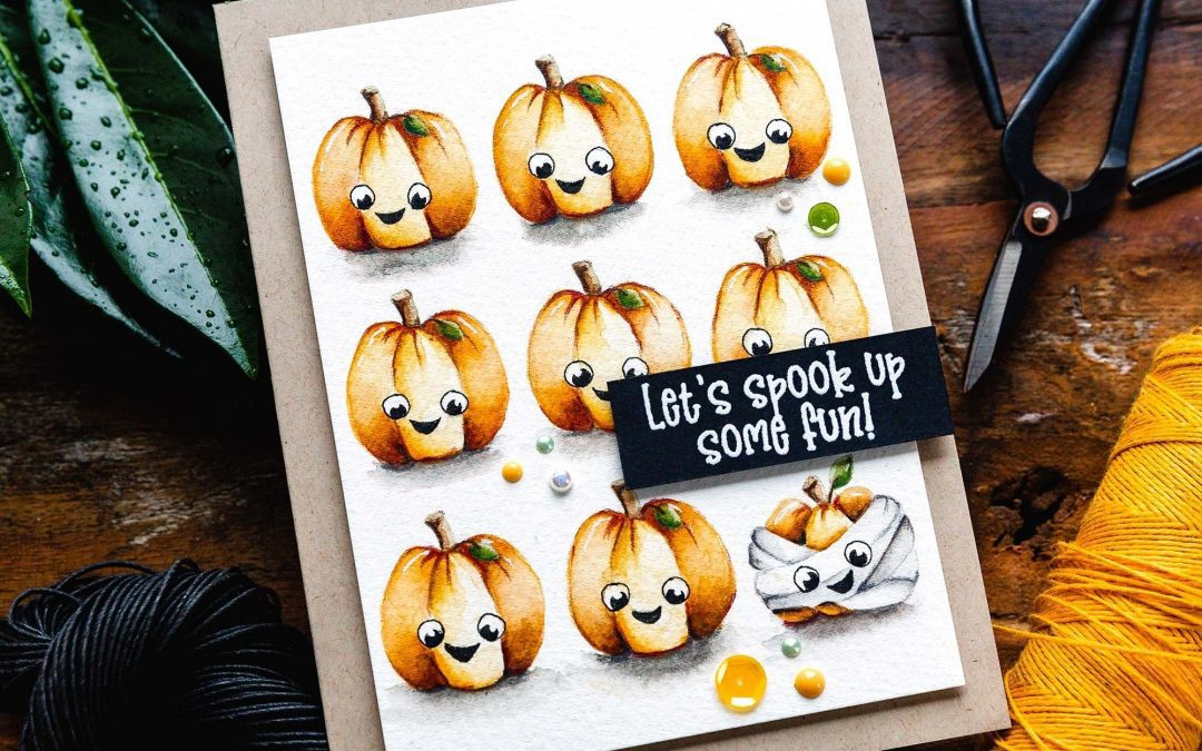 Cute Repetition + Limited Edition Halloween Card Kit